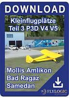 Kleinflugplätze 3 P3D V4 V5