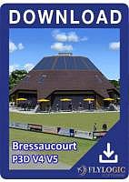 Airport Bressaucourt P3D V4 V5